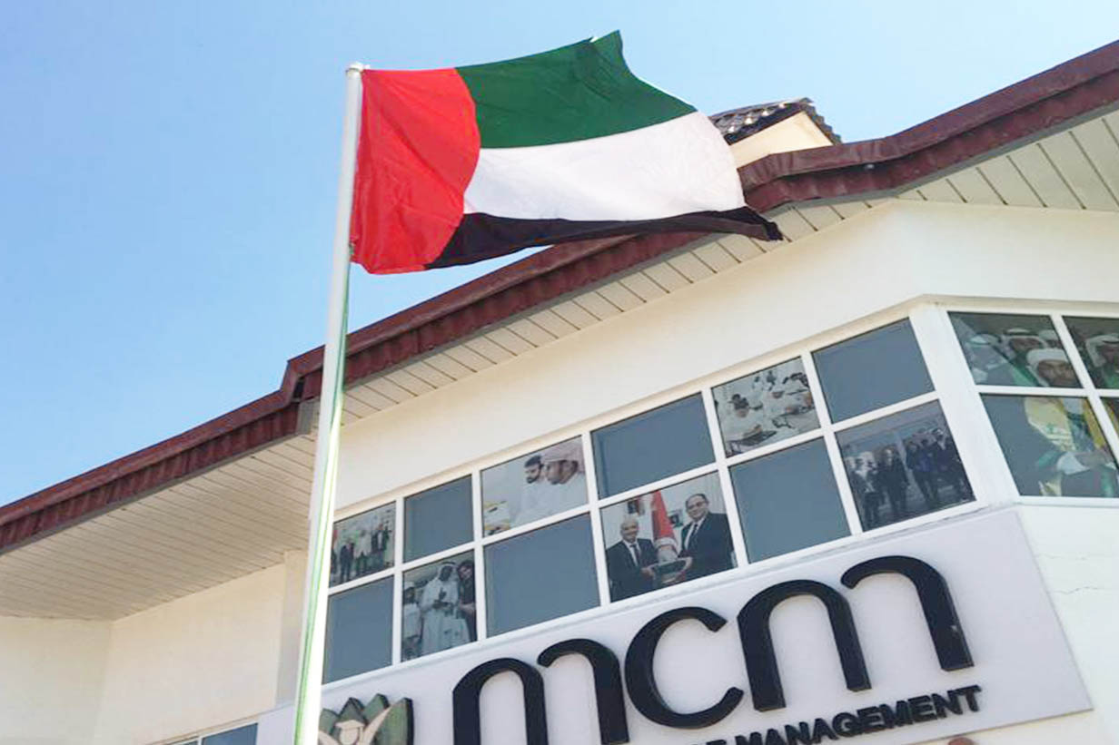Flag Day was celebrated at MENA College of Management